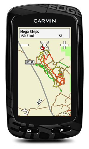 garmin mountain bike maps