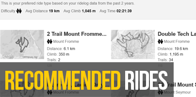 recommended rides