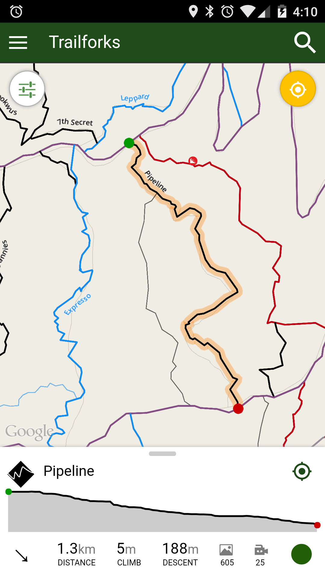 trail map app