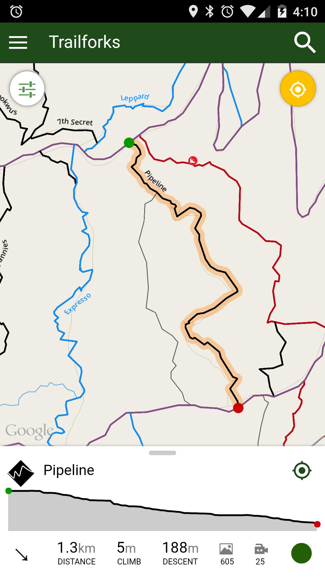 trail map app