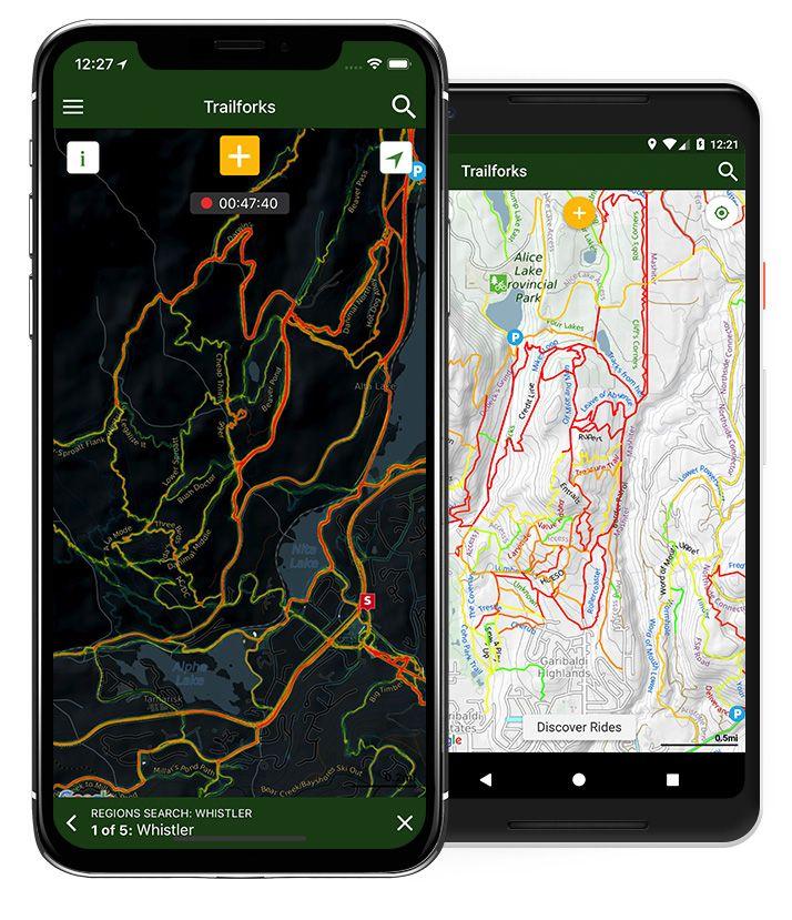 Trailforks Mobile App