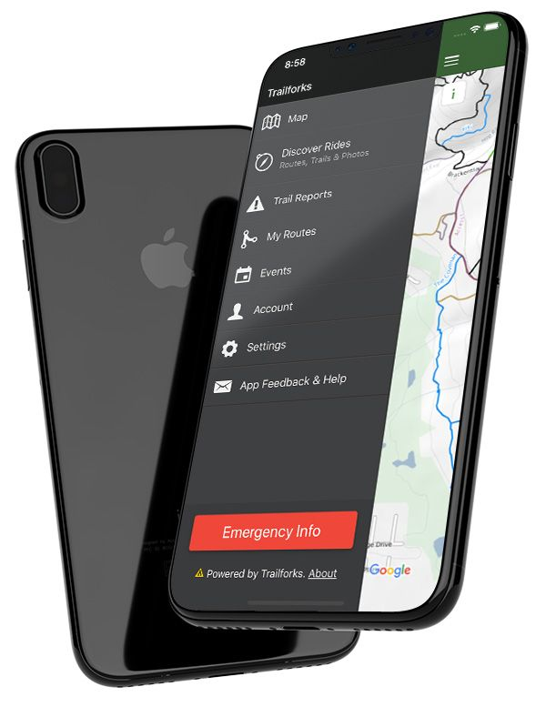 Trailforks Mobile App