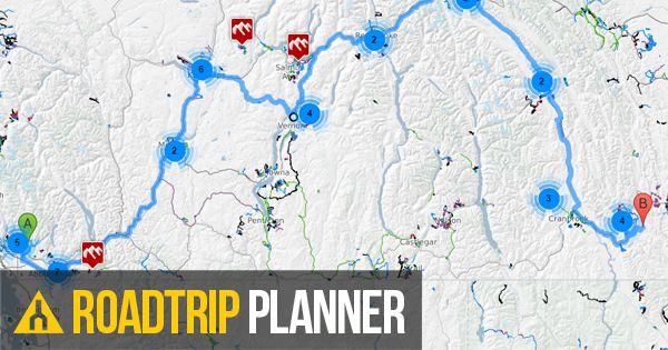 Road Trip Planner >> Mountain Bike Road Trip Planner Trailforks
