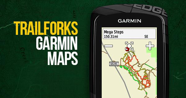 Garmin Maps For Mountain Biking | Trailforks