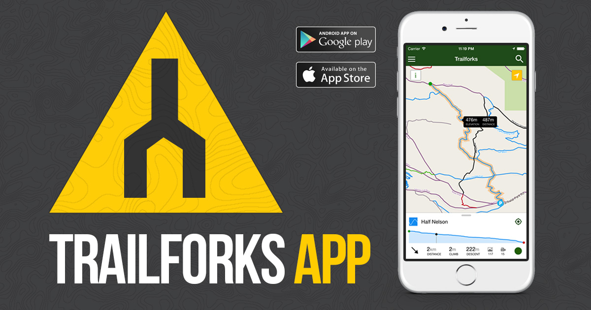 Trailforks Mobile App - Trail map apps